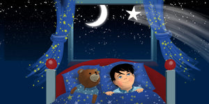Stars Children's Story & Audio Book Hardcover - Toddlyworld