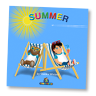 Load image into Gallery viewer, Summer Children's Story & Audio book Hardcover - Toddlyworld
