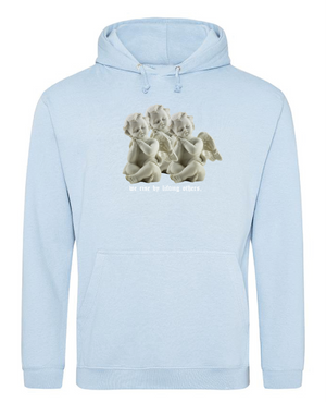 LIFTING OTHERS - BABYBLUE HOODIE
