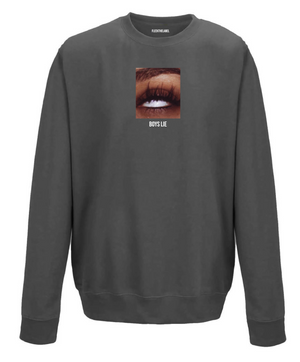 BOYS LIE - SMOKEGREY SWEATER