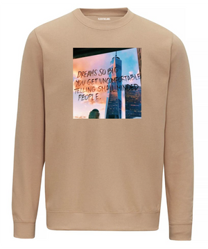 DREAMS SO BIG - BEIGE SWEATER