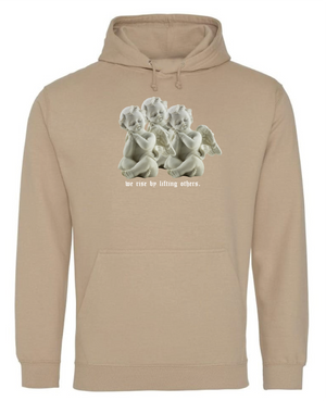 LIFTING OTHERS - BEIGE HOODIE