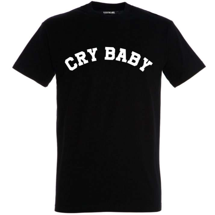 CRY BABY - BLACK T-SHIRT