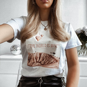 WORLDTRIP - ASH T-SHIRT
