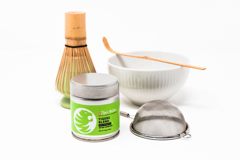 "TIGER MATCHA ""STAY AT HOME"" STARTER KIT +Matcha bundle - Tiger Matcha"