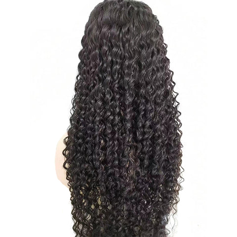 360 Lace Front Wig Brazilian Remy Wigs Curly Human Hair Wig 150% Density Lace Frontal Human Hair Wigs
