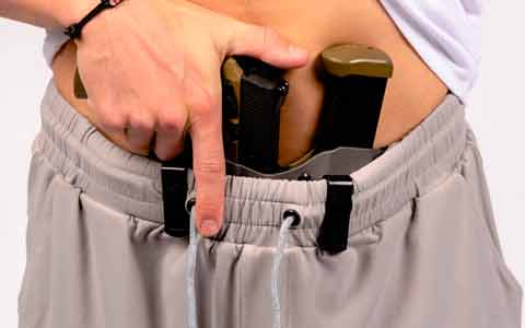 Patent-Pending Carrier Retention Waistband for Unparalleled Support