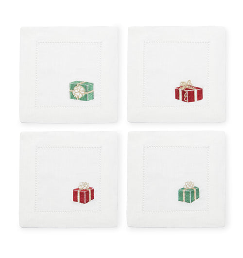 Gifts Cocktail Napkins Red and Green