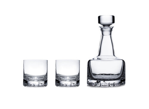Erik 3 Piece set (2 DOF & Decanter) by Olle Alberius