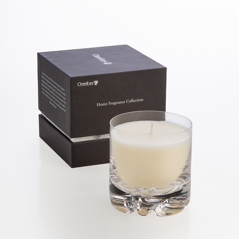 Orrefors Home Fragrance Collection Erik Candle (Blushing Pink)