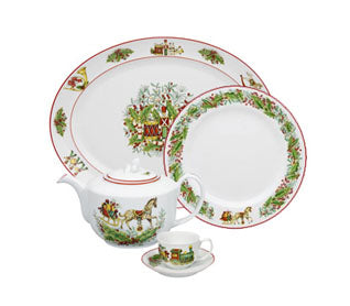 Christmas Magic Serving Ware