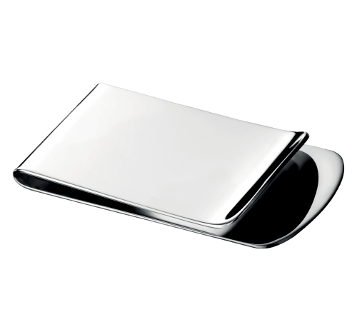 Silver-Plated Money Clip