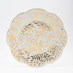 "Nymphea - Olivier Gold Dinner plate 10.75"" W"