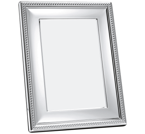 PERLES Picture frame Silver plated