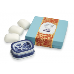 BLUE CANTON HEIRSAVONARE GIFT SOAP SET