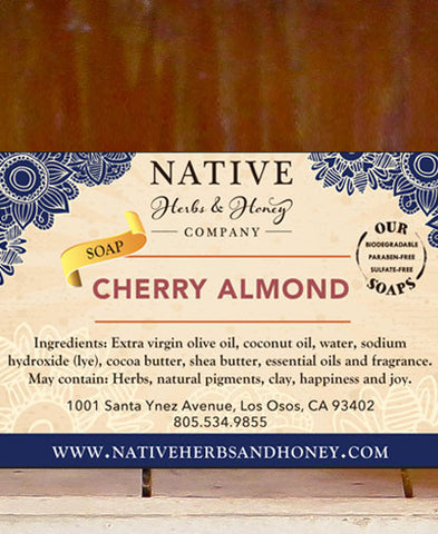 Cherry Almond Perfumed Soap