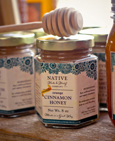 Spun Honey -Creamed Cinnamon | Orange Blossom honey