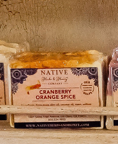 Spiced Cranberry Perfumed Soap