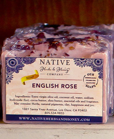 English Rose Perfumed Soap