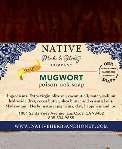 Mugwort Naturally Scented Soap