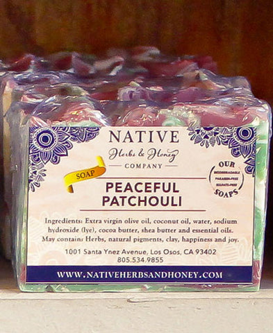 Peaceful Patchouli Naturally Scented Soap