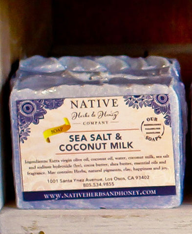 Sea Salt and Coconut Milk Naturally Scented Soap