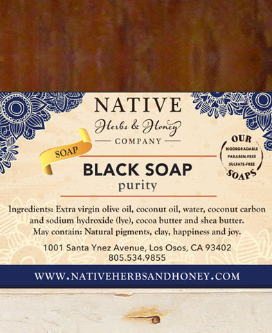 Purity Black Soap