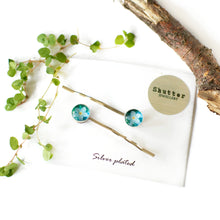 Load image into Gallery viewer, Forget Me Not Hair Pins