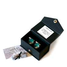 Load image into Gallery viewer, Gift boxed silver cufflinks