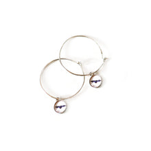 Load image into Gallery viewer, Silhouette Hoop Earrings and Charm Set
