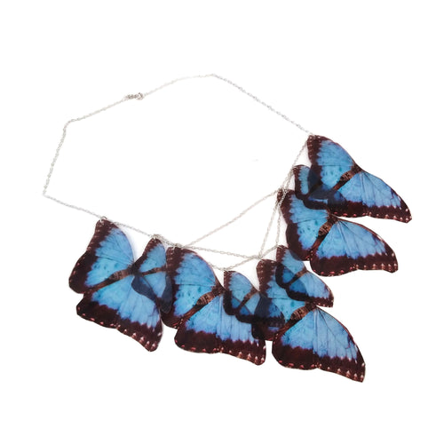Faux Butterfly statement necklace