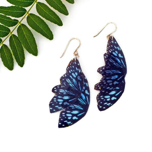 Ceylon Tiger Butterfly Statement Earrings