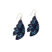 Load image into Gallery viewer, Ceylon Tiger Butterfly Statement Earrings