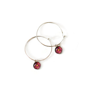 Cosmos Hoop Earrings