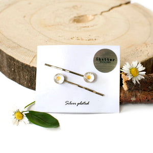 Daisy Hair Pins