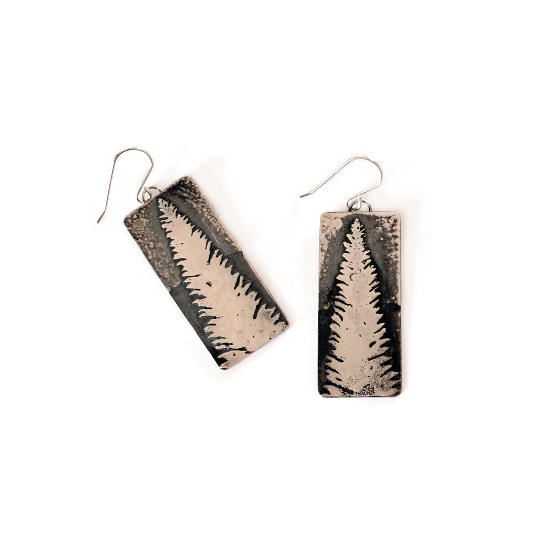Fir Tree Drop Earrings