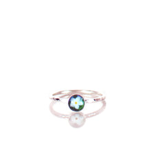 Load image into Gallery viewer, Forget Me Not Silver Ring