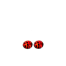 Load image into Gallery viewer, Ladybird Stud Earrings