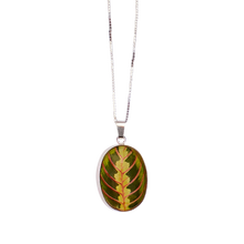 Load image into Gallery viewer, Maranta Leaf Pendant Necklace