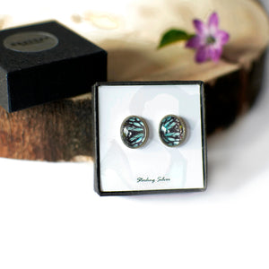 Ceylon Tiger Stud Earrings