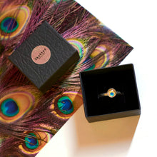 Load image into Gallery viewer, Peacock Adjustable Ring