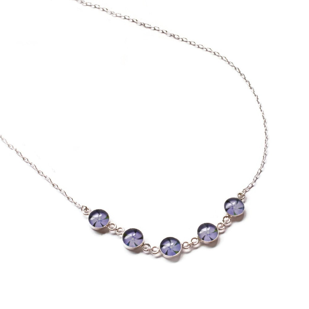 Periwinkle Chain Necklace