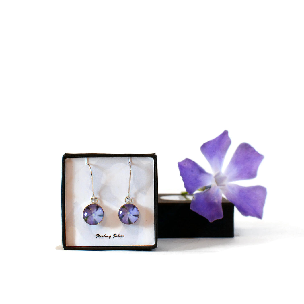 Periwinkle Drop Earrings