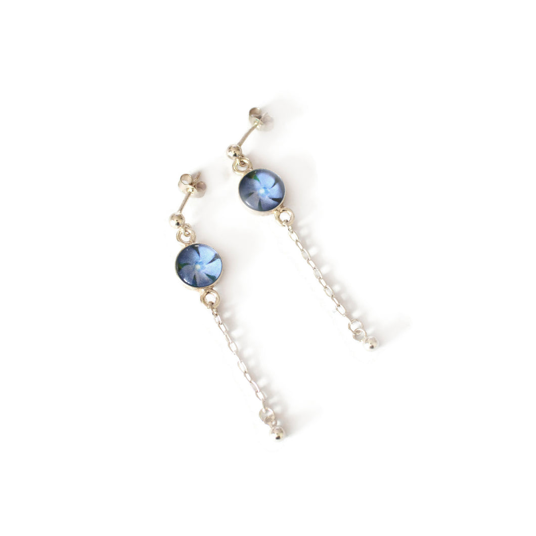 Periwinkle French Drop Earrings