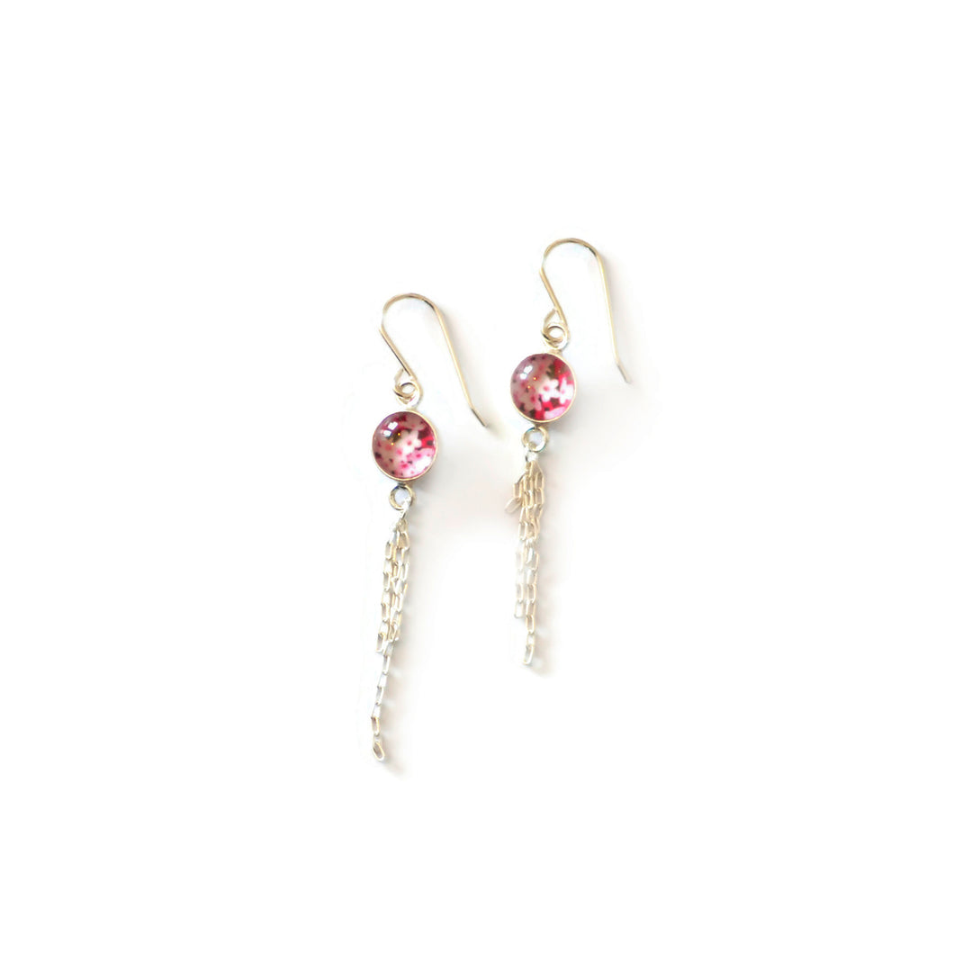 Daphne Long Dangle Earrings