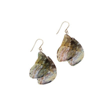 Load image into Gallery viewer, Prepona Butterfly Statement Earrings