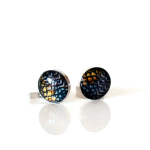 Sterling Silver Reeves Cufflinks