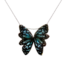 Load image into Gallery viewer, Single Butterfly Statement Necklace - Ceylon Tiger