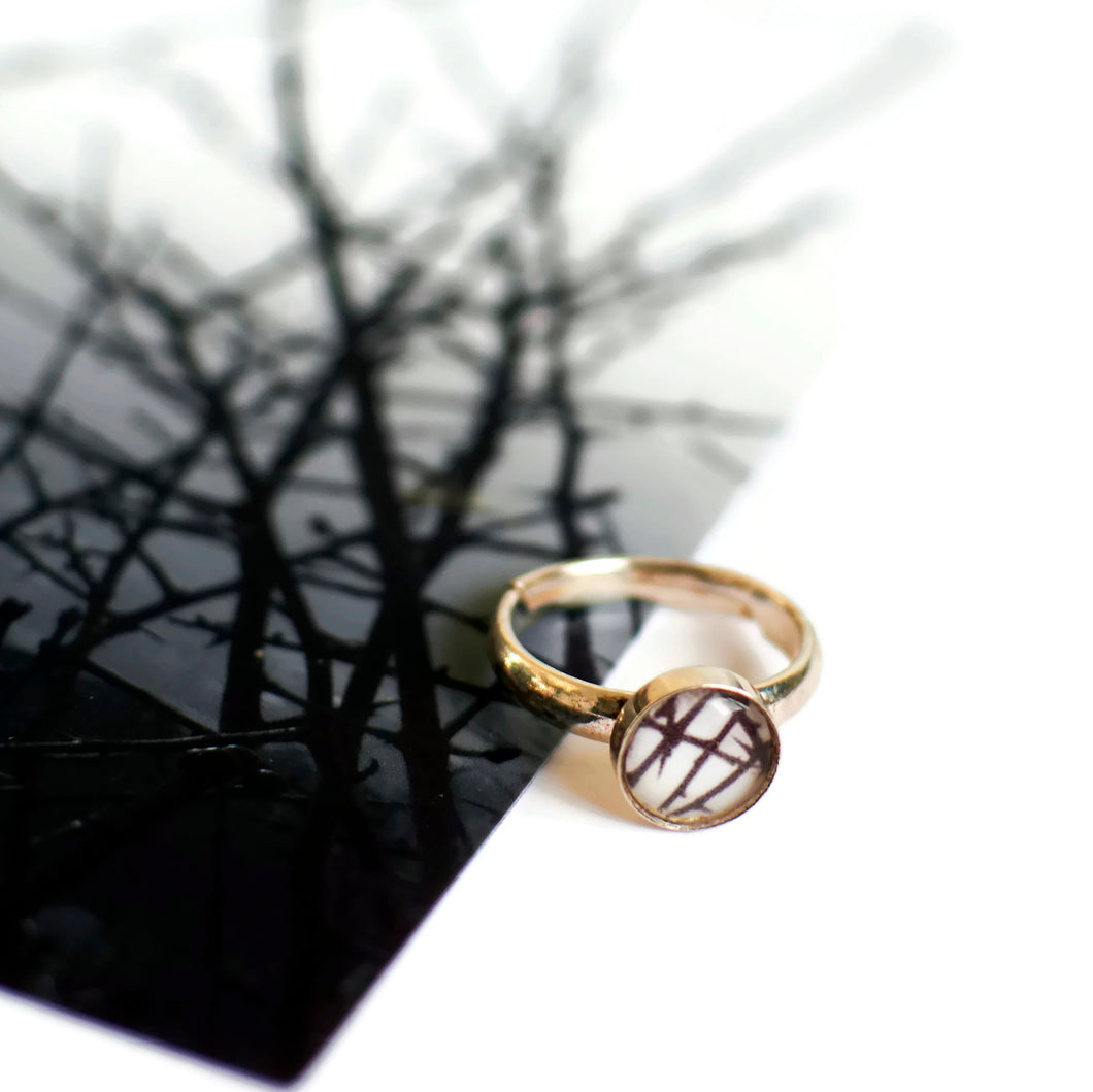 Thorns Adjustable Ring
