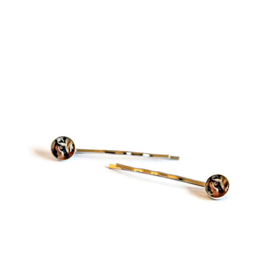 Tiger Hair Pins
